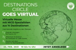 Destinations Circle goes virtual